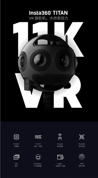 Insta360 Titan专业级全景相机